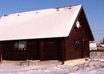 Оцилиндровочный дом