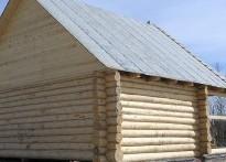 Сруб дом 7х6+3м